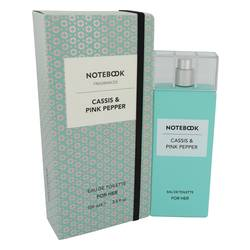 Notebook Cassis & Pink Pepper Perfume by Selectiva SPA 3.4 oz Eau De Toilette Spray