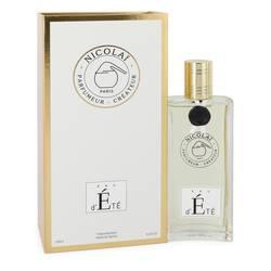 Nicolai Eau D'ete Perfume by Nicolai 3.4 oz Eau De Parfum Spray (Unisex)