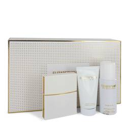 Nirvana White Perfume by Elizabeth and James -- Gift Set - 1 oz Eau De Parfum Spray + 1.7 oz Body Lotion + 1.3 oz Dry Shampoo