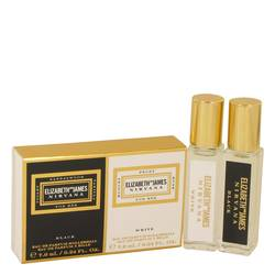 Nirvana White Perfume by Elizabeth and James -- Gift Set - Mini Set Includes .24 oz Nirvana White Rollerball and .24 oz Nirvana Black Rollerball