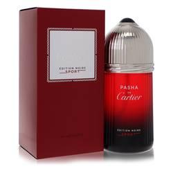Pasha De Cartier Noire Sport Cologne by Cartier 3.3 oz Eau De Toilette Spray