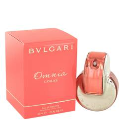 Omnia Coral Perfume by Bvlgari 1.4 oz Eau De Toilette Spray