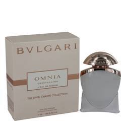 Omnia Crystalline L'eau De Parfum Perfume by Bvlgari 0.84 oz Mini EDP Spray