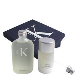 Ck One Perfume by Calvin Klein -- Gift Set - 3.4 oz Eau De Toilette Spray + 3.5 oz Deodorant Stick