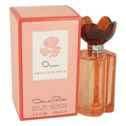 Oscar Orange Flower Perfume by Oscar De La Renta 3.4 oz Eau De Toilette Spray
