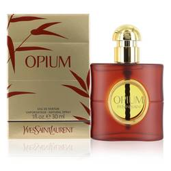 Opium Perfume by Yves Saint Laurent 1 oz Eau De Parfum Spray