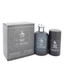 Original Penguin Iconic Blend Cologne by Original Penguin -- Gift Set - 3.4 oz Eau De Toilette Spray + 2.75 oz Deodorant Stick