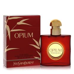 Opium Perfume by Yves Saint Laurent 1 oz Eau De Toilette Spray (New Packaging)