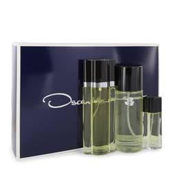Oscar Perfume by Oscar de la Renta -- Gift Set - 3.4 oz Eau De Toilette Spray + 8.4 oz Body Mist + .5 oz Travel Size Spray