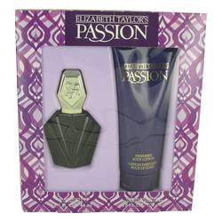 Passion Perfume by Elizabeth Taylor -- Gift Set - 1.5 oz Eau De Toilette Spray + 6.8 oz  Body Lotion