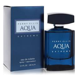 Perry Ellis Aqua Extreme Cologne by Perry Ellis 3.4 oz Eau De Toilette Spray