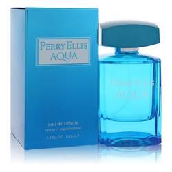 Perry Ellis Aqua Cologne by Perry Ellis 3.4 oz Eau De Toilette Spray