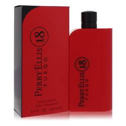Perry Ellis 18 Fuego Cologne by Perry Ellis 3.4 oz Eau De Toilette Spray