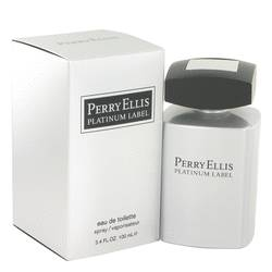 Perry Ellis Platinum Label Cologne by Perry Ellis 3.4 oz Eau De Toilette Spray