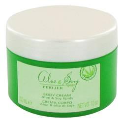 Perlier Perfume by Perlier 7 oz Aloe & Soy Lipids Body Cream