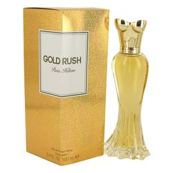 Gold Rush Perfume by Paris Hilton 3.4 oz Eau De Parfum Spray