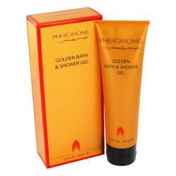Pheromone Perfume by Marilyn Miglin 4.5 oz Golden Bath & Shower Gel
