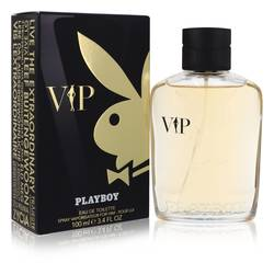 Playboy Vip Cologne by Playboy 3.4 oz Eau De Toilette Spray
