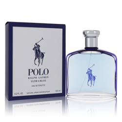 Polo Ultra Blue Cologne by Ralph Lauren 4.2 oz Eau De Toilette Spray