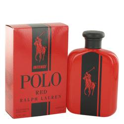 Polo Red Intense Cologne by Ralph Lauren 4.2 oz Eau De Parfum Spray