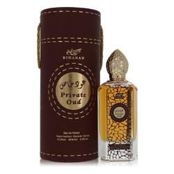 Rihanah Private Oud Cologne by Rihanah 3.4 oz Eau De Parfum Spray (Unisex)