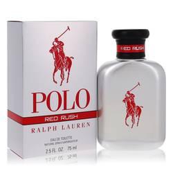 Polo Red Rush Cologne by Ralph Lauren 2.5 oz Eau De Toilette Spray