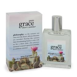 Pure Grace Desert Summer Perfume by Philosophy 2 oz Eau De Toilette Spray