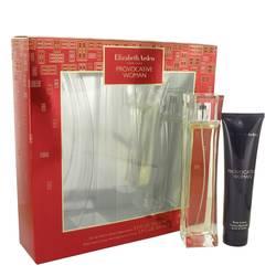 Provocative Perfume by Elizabeth Arden -- Gift Set - 3.3 oz Eau De Parfum Spray + 3.3 oz Body Lotion