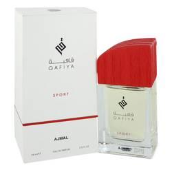 Qafiya Sport Cologne by Ajmal 2.5 oz Eau De Parfum Spray