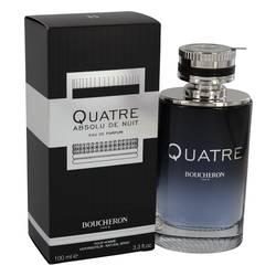 Quatre Absolu De Nuit Cologne by Boucheron 3.3 oz Eau De Parfum Spray