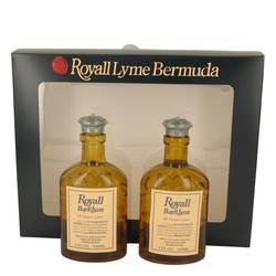 Royall Bay Rhum Cologne by Royall Fragrances -- Gift Set - Two 4 oz All Purpose Lotion / Cologne Splash Includes 2 Spray Pumps