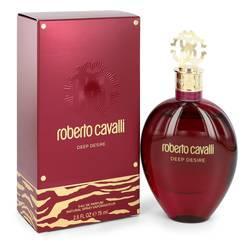 Roberto Cavalli Deep Desire Perfume by Roberto Cavalli 2.5 oz Eau De Parfum Spray