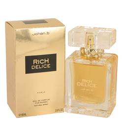 Rich Delice Perfume by Johan B 2.8 oz Eau De Parfum Spray