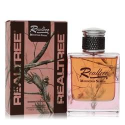 Realtree Mountain Series Perfume by Jordan Outdoor 3.4 oz Eau De Toilette Spray