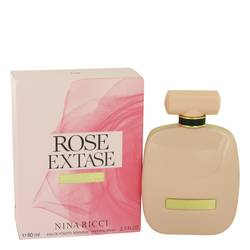 Rose Extase Perfume by Nina Ricci 2.7 oz Eau De Toilette Sensuelle Spray