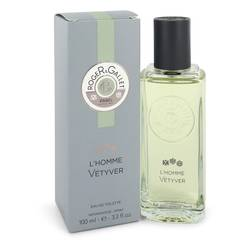 Roger & Gallet L'homme Vetyver Cologne by Roger & Gallet 3.3 oz Eau De Toilette Spray