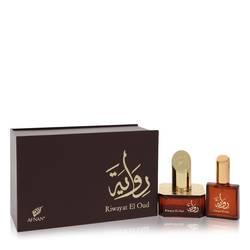 Riwayat El Oud Perfume by Afnan 1.7 oz Eau De Parfum Spray + Free .67 oz Travel EDP Spray