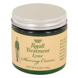 Royall Lyme Cologne by Royall Fragrances 4 oz Shaving Cream