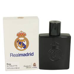 Real Madrid Black Cologne by Air Val International 3.4 oz Eau De Toilette Spray