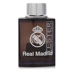 Real Madrid Black Cologne by Air Val International 3.4 oz Eau De Toilette Spray (Tester)
