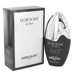 Rose Noire Black Cologne by Giorgio Valenti 3.3 oz Eau De Toilette Spray