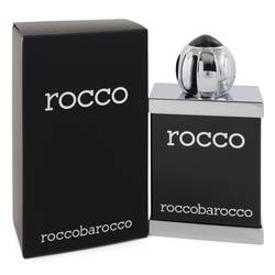 Rocco Black Cologne by Roccobarocco 3.4 oz Eau De Toilette Spray