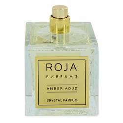 Roja Amber Aoud Crystal Perfume by Roja Parfums 3.4 oz Extrait De Parfum Spray (Unisex Tester)