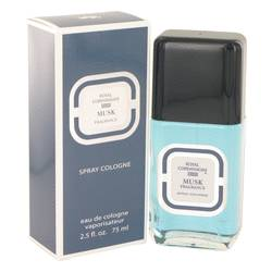 Royal Copenhagen Musk Cologne by Royal Copenhagen 2.5 oz Cologne Spray