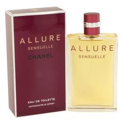 Allure Sensuelle Perfume by Chanel 3.4 oz Eau De Toilette Spray