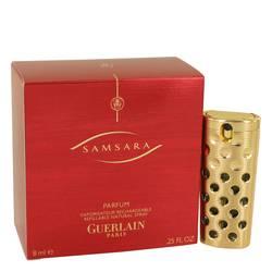 Samsara Perfume by Guerlain 0.25 oz Pure Perfume Spray Refillable