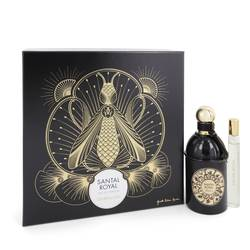 Santal Royal Perfume by Guerlain -- Gift Set - 4.2 oz Eau De Parfum Spray + .5 oz Travel Size Eau De Parfum Spray