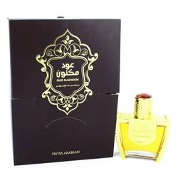 Oud Maknoon Perfume by Swiss Arabian 3.4 oz Eau De Parfum Spray (Unisex)