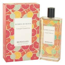 Scorza Di Sicilia Perfume by Berdoues 3.68 oz Eau De Toilette Spray