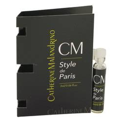 Style De Paris Perfume by Catherine Malandrino 0.06 oz Vial (sample)